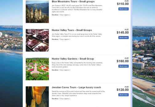 Tours and Travels : www.sydneytours.com